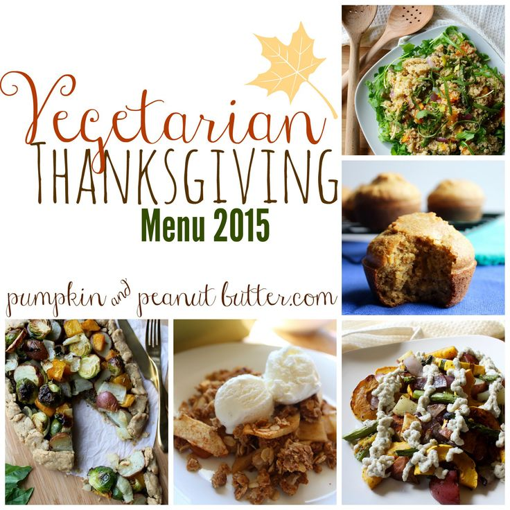 A  Vegetarian Thanksgiving Menu 2015 // pumpkin & peanut butter