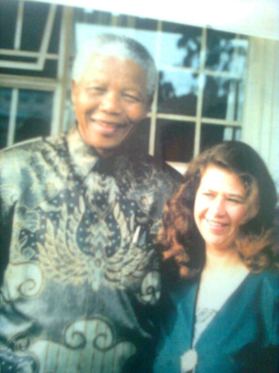 My photo with Tata in 1995 at the Bosmont Nursery School Johannesburg. Submitted by Marcelle Barnard
