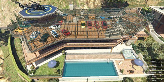 Franklin Garage Roof Game Gta 9gta5mods Com Garage Roof Roof Roof Maintenance
