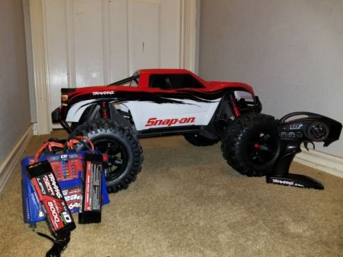 Limited Edition Red Snap On Traxxas X Maxx Rc Truck 1 5 Scale Rc