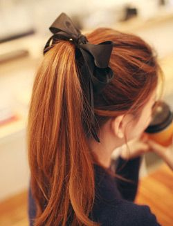 I love this color of red hair, but it wouldn't look good on me.