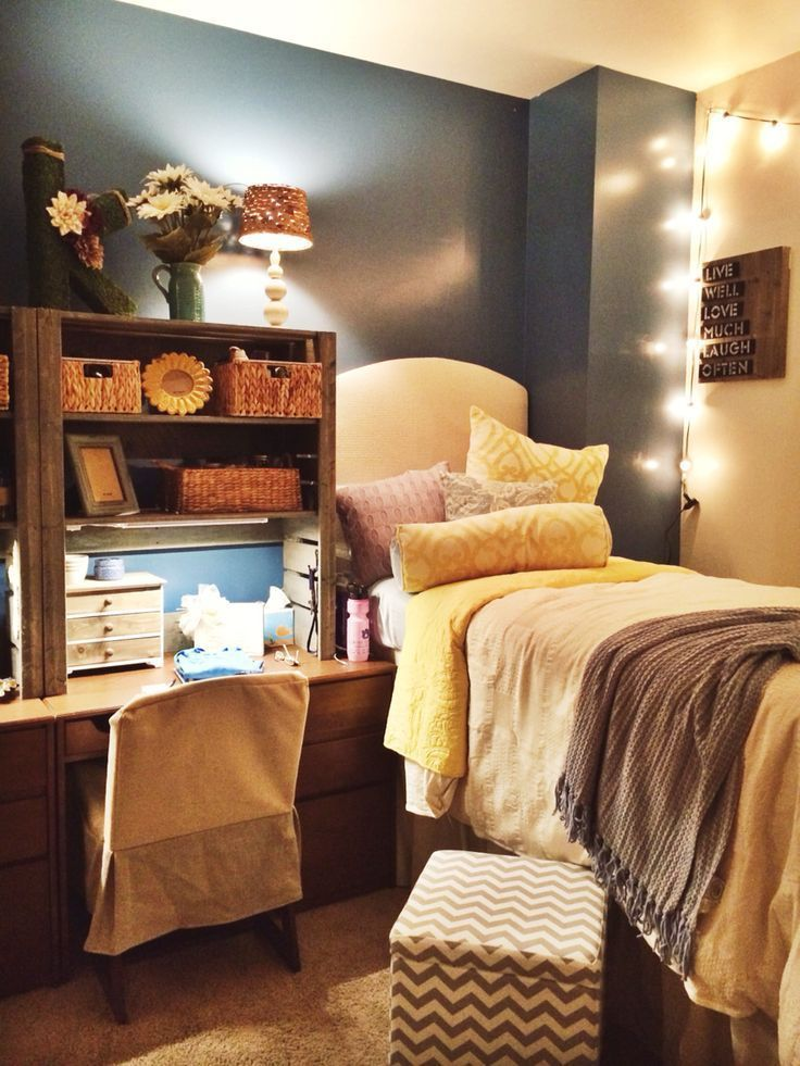 Top 25 Ideas About Cozy Dorm Room On Pinterest College