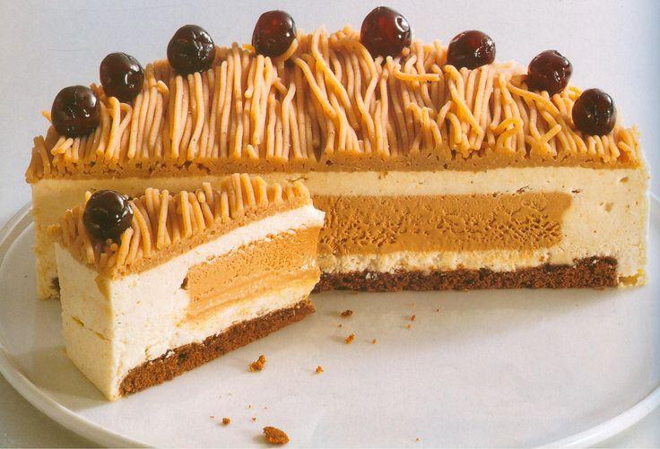 Cream Cheese Chesnut Cake