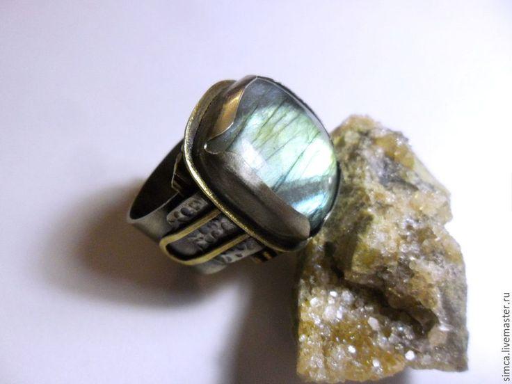 Купить Кольцо мужское. - кольцо, кольцо мужское, кольцо с камнем, кольцо с лабрадоритом