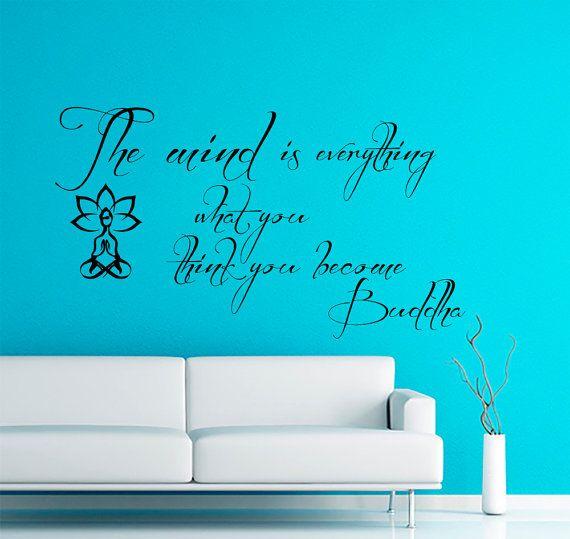 Best Zen Workout Room Images On Pinterest Workout Rooms Wall - Zen wall decals