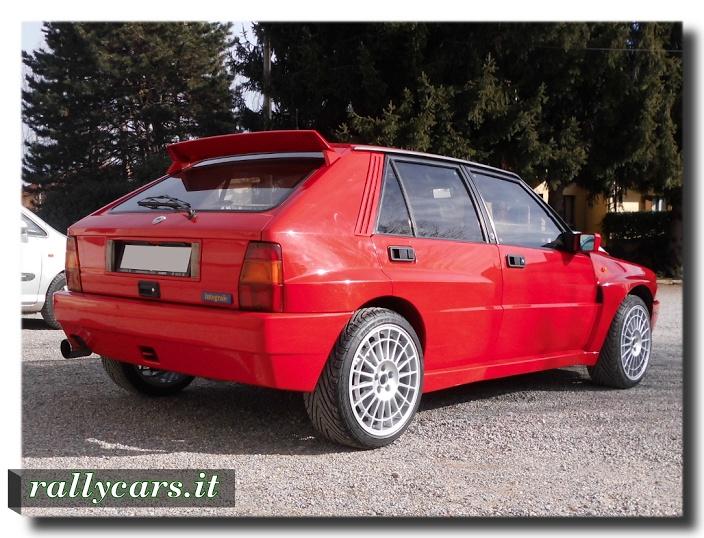 Lancia Delta EVO rosso Monza (cover)