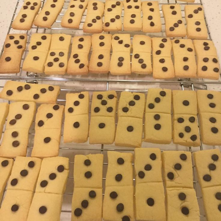 Domino Shortbread from Linda Chin at GBB Wellington