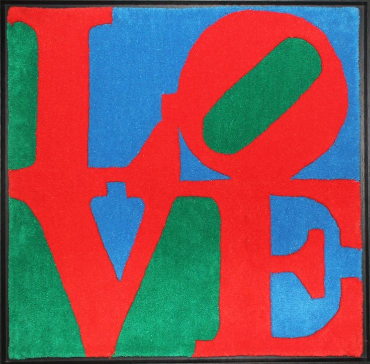 Lot 2, Robert Indiana - Classic LOVE