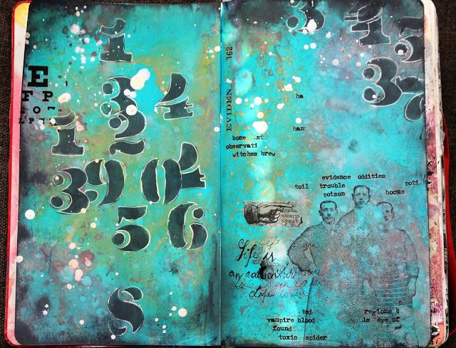 Aromaattista arkea askarrellen : Letters or Numbers or Both