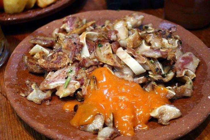 #LaReceta · Oreja adobada de cerdo a la plancha. | #Gastronomía