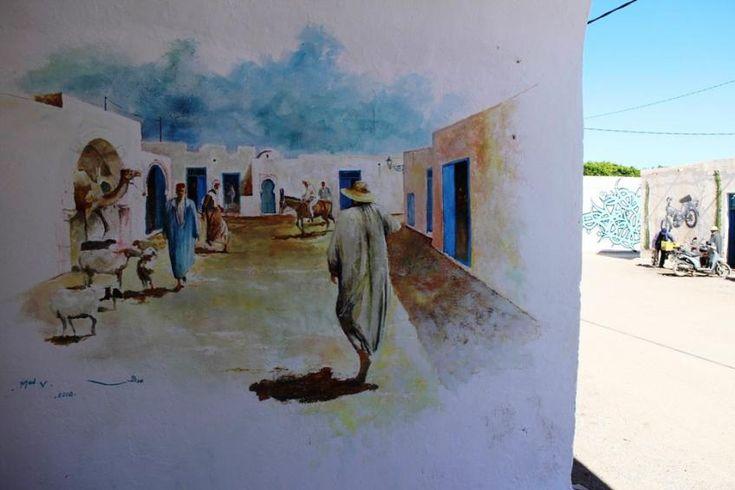 """La web-série """"Bienvenue à Djerbahood"""", de Joëlle Matos et Cécile Quiroz, sur ARTE Creative : http://creative.arte.tv/fr/djerbahood"""