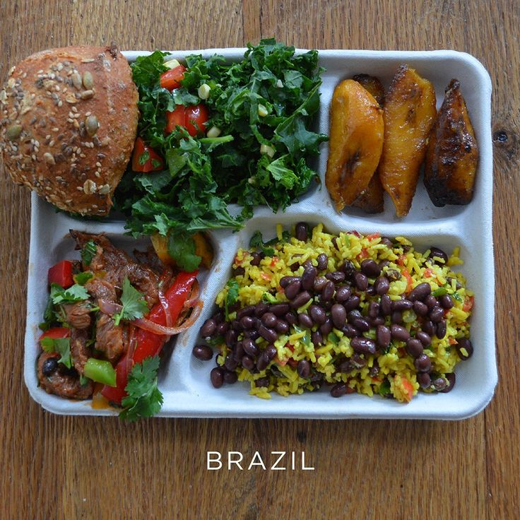 What School Lunches Around the World Look LIke #FWx