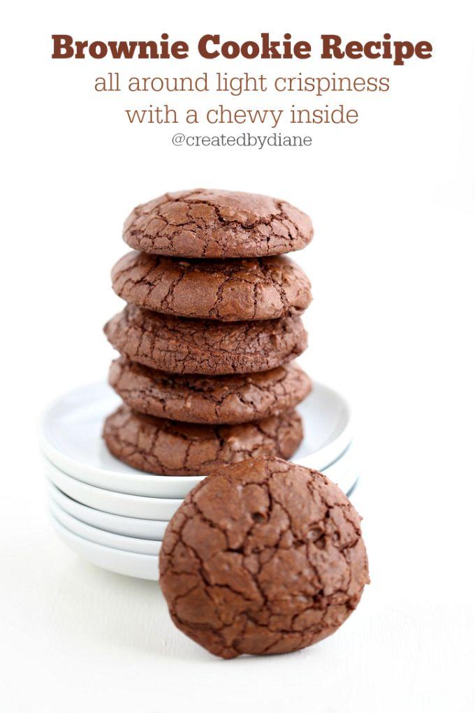 Brownie Cookie Recipe | Created by Diane