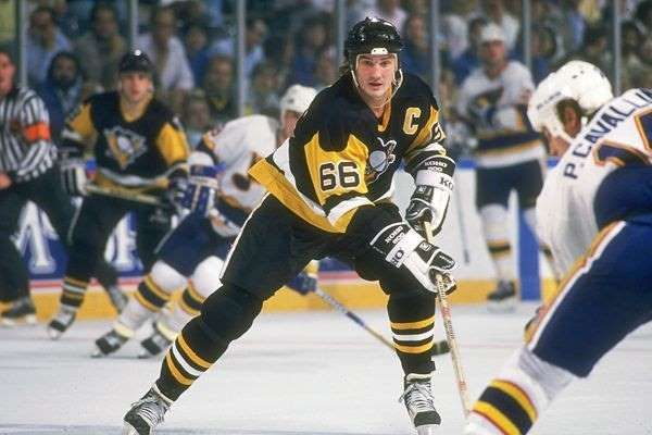 MARIO LEMIEUX: The highly decorated former Pittsburgh Penguin — or perhaps current Penguin, since he owns the team now — won three Hart Trophies, six Art Ross Trophies, four Lester B. Pearson Awards and the Conn Smythe Trophy in consecutive Stanley Cup Finals.