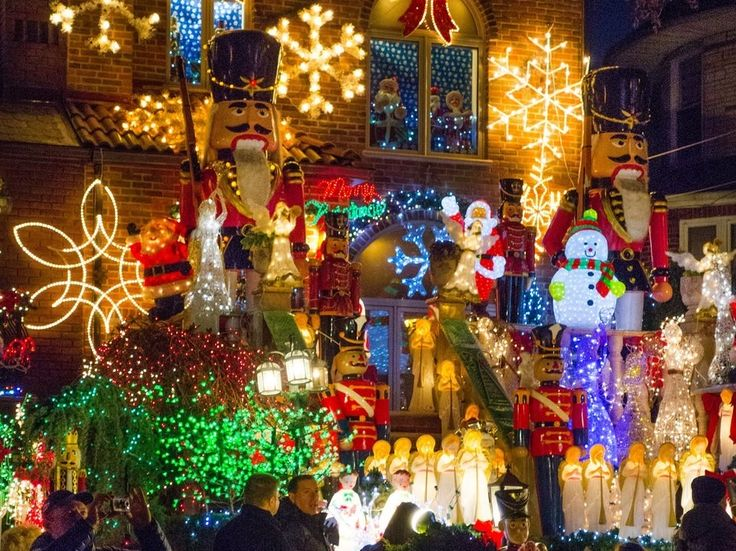 Leave your favorite hipsters behind, ditching Bedford Avenue for Bay Ridge Parkway in Dyker Heights. The neighborhood is home to the famed Dyker Heights Christmas Lights, which natives install from Thanksgiving to New Year's. Pro tip: 83rd and 84th streets between 11th and 12th Avenues showcase the most elaborate decorations. Not even your great aunt and her motorized gingerbread men could rival this spectacular.