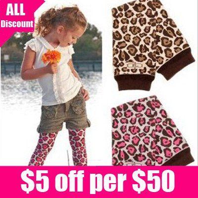 ücretsiz kargo 5pairs/lot bebek bebek Toddler zebra leopar kız legging tayt bacak ısıtıcıları çorap