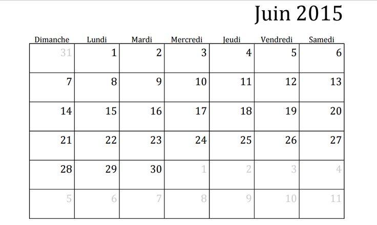 Meer dan 1000 idee n over calendrier juin 2015 op for Calendrier jardin juin 2015