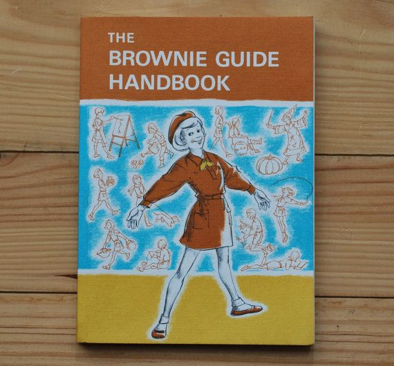 Vintage Brownie Guide Handbook British by LostPropertyVintage, £8.00