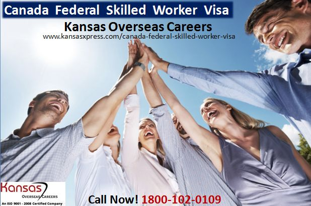 #canadafederalskilledworkervisa Staff at Kansas overseas careers will answer to your queries on canada federal skilled worker visa.