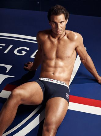 Check out these very HOT pics of Rafael Nadal in his latest Tommy Hilfiger ads!