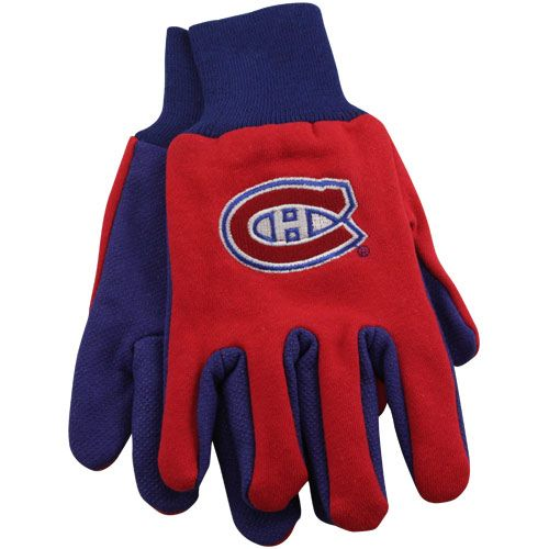 Montreal Canadiens Utility Work Gloves