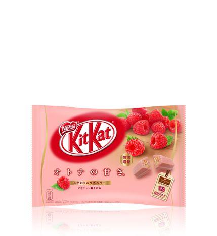 ネスレ キットカット ミニ オトナの甘さ ラズベリー 12枚 :: ネスレ製品ラインナップ