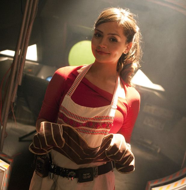 Jenna Louise Coleman as Oswin Oswald from Doctor Who.  She can serve me her soufflé  anytime
