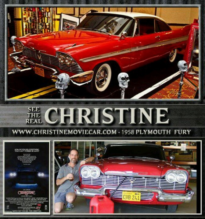 272 best Christine images on Pinterest   Movie cars, Plymouth fury ...