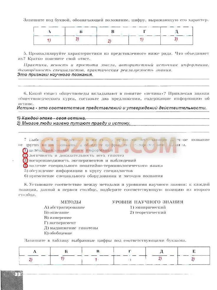 Федченко решебник 7 класс