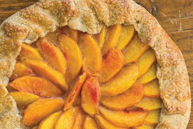 If I were making dessert for one of my favorite movie stars, George Clooney or Meryl Streep, I'd bake this galette because it is simple, rustic, and honest. If you want to serve it to a large group for a special gathering, the recipe doubles easily to make a 12-inch galette. Accompany with a dollop of whipped cream or vanilla ice cream and you have a totally scrumptious home-style dessert. --Marcy