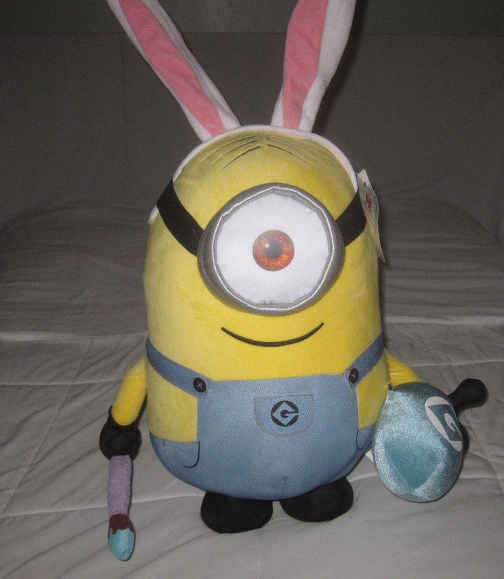 "Stewart *BIG SIZE* 20"" 50cm Despicable Me Minions Doll Plush #minions"