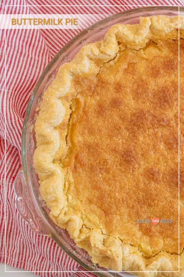 You Won T Believe How Simple This Custard Pie Is Recipe In 2020 Easy Homemade Desserts Homemade Recipes Dessert Buttermilk Pie
