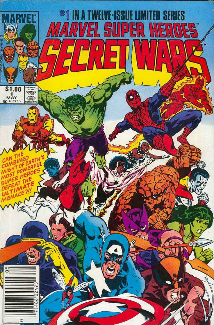 Marvel Super Heroes:  Secret Wars  #1 in a Twelve Issue Limited Series!