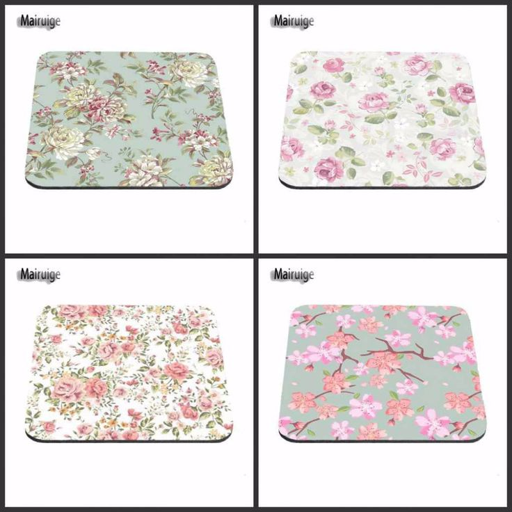 Beautiful Lady Love Elegant Blue Pink  Flower Custom Made Computer Mouse Mat High Quality Resistant to Dirt Cheap Mouse Pad