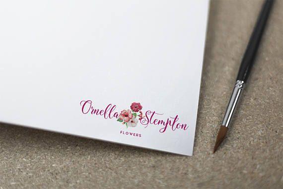 Premade Logo scritte a mano Logo Logo Boutique Logo