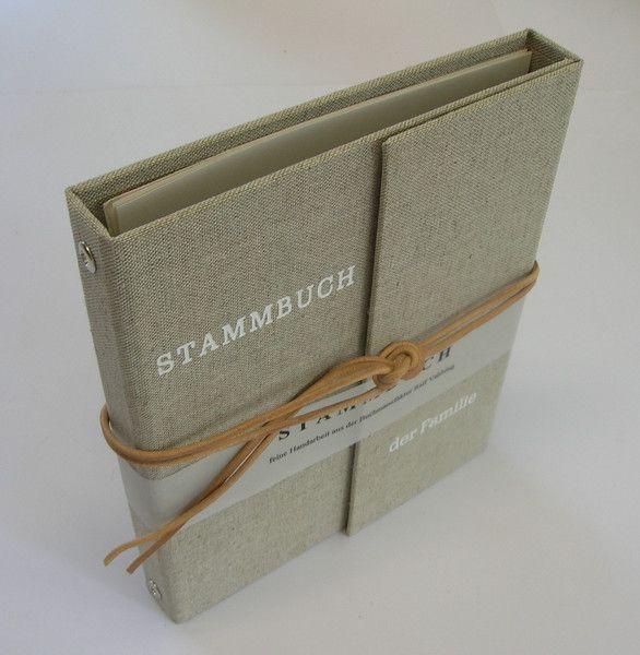 Weiteres - Stammbuch, Familienbuch aus der Manufaktur - ein Designerstück von Bielefelder-Buch--Praegemanufaktur bei DaWanda