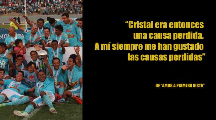 Sus mejores frases sobre el Sporting Cristal. Febrero 20, 2016.