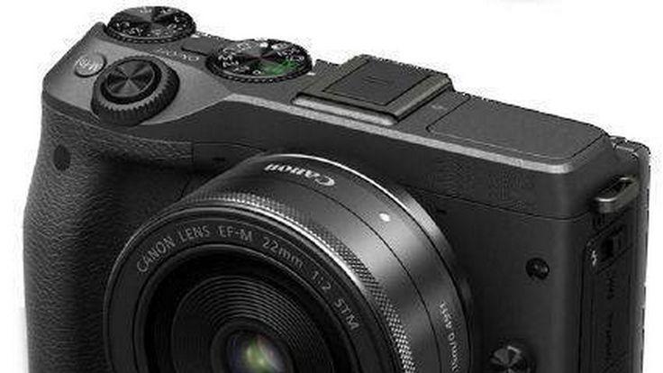 Bocoran soal penampakan Canon EOS M3 beredar diinternet. Kamera mirrorless yang akan menjadi penerus EOS M2 ini dikabarkan akan segera dirilis pada 6 februari 2015. Seperti dilansir pada situs Ubergizmo, desain pada kamera baru dari bentuk kamera DSLR tradisional. Pada tampilan bodi Canon EOS M3 terlihat lebih kompak. Melalui tampilan sebuah gambar, pada kamera terbaru