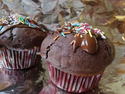 Luxusní čokoládové cupcakes