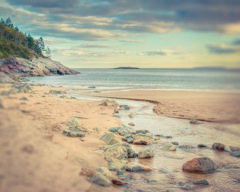 Maine landscape photography print from Acadia National Park by Allison Trentelman   rockytopstudio.com