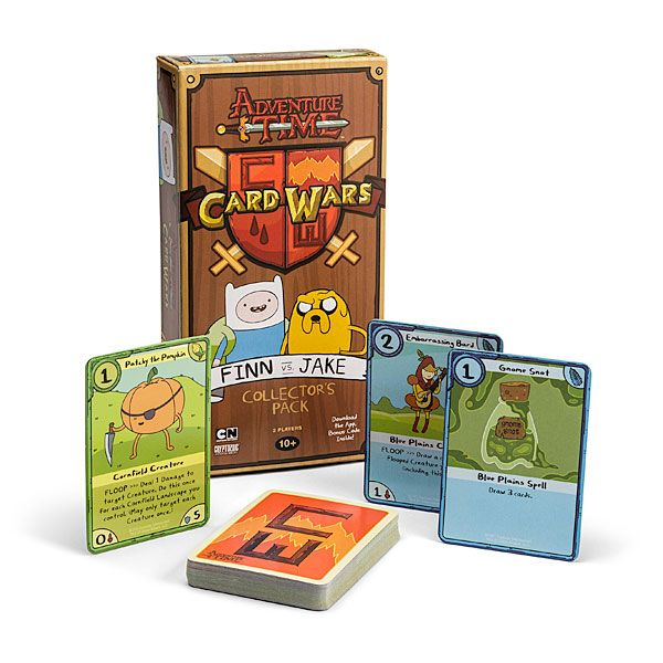Adventure Time Card Wars  Just the booster packs though.