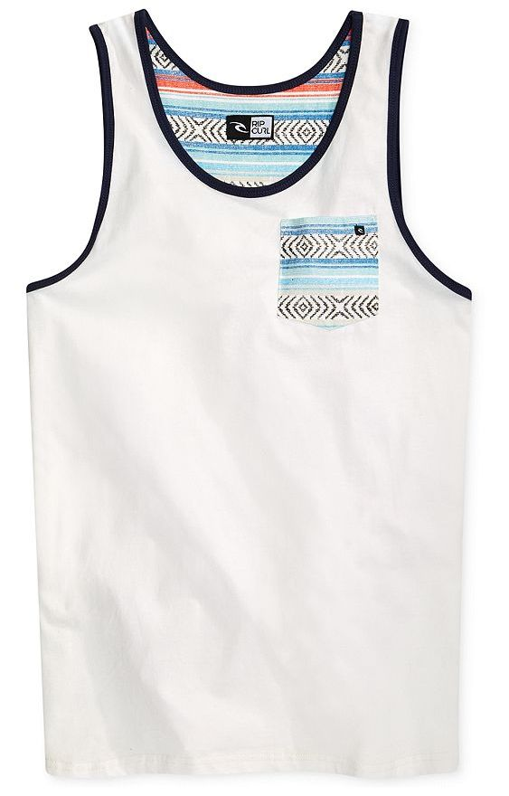 Rip Curl Festival tank —on the hunt for a beach babe magnet? Look no further