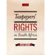 """Beric's PhD thesis was published by Jutas Law in 2010 as """"Taxpayers' Rights in South Africa"""""""
