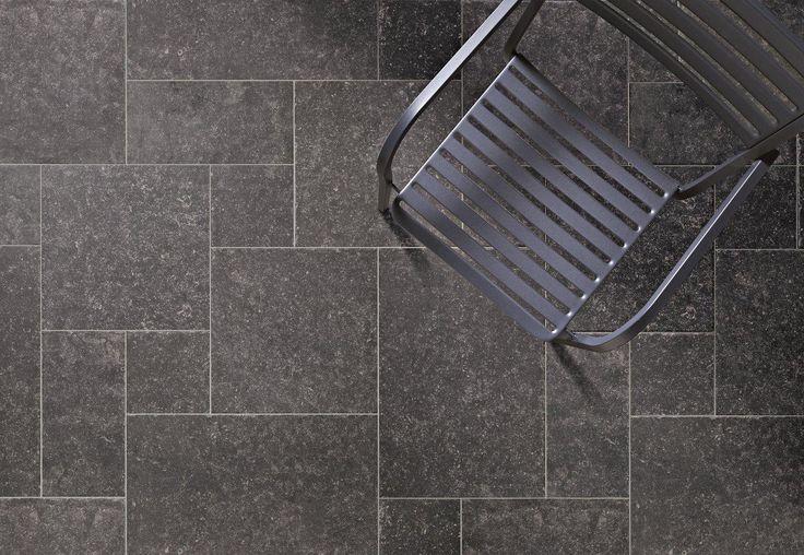 Keramische verouderd Belgisch hardsteen module vloer, wel de uitstraling van Belgisch hardsteen niet de nadelen (12-BH), Tegelhuys