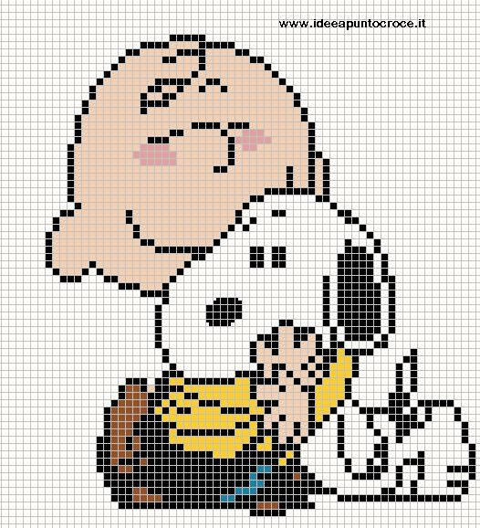 Charlie Brown and Snoopy pattern by syra1974 on deviantART
