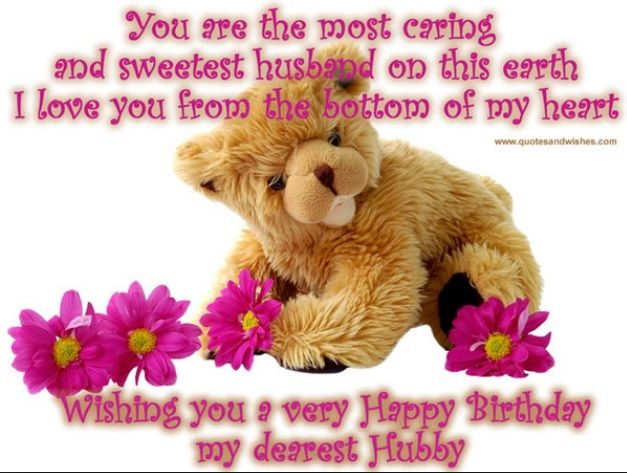 17 Best ideas about Happy Birthday Husband – Quotes About Greetings for Birthday