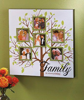 Family Tree Photo Collage...