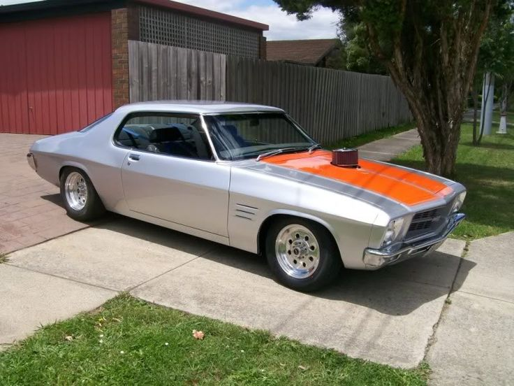 australian muscle car. HQ Monaro. Love it!