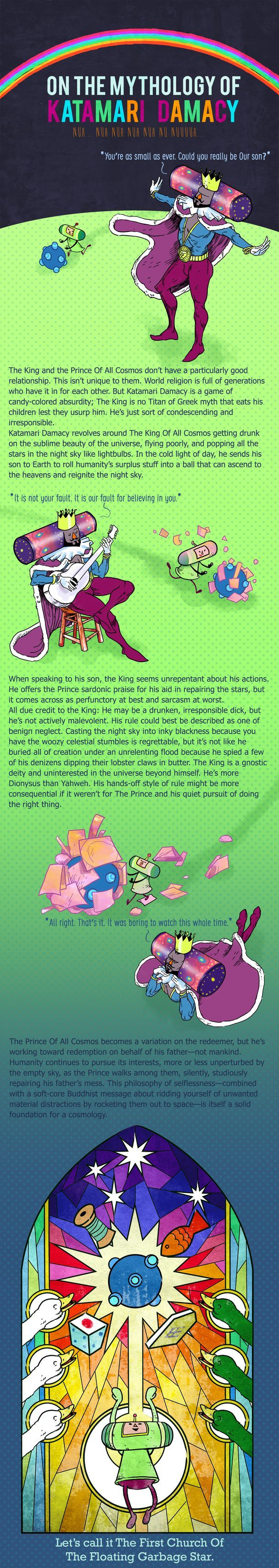 Katamari Damacy's whimsical cosmology is built on a father-son relationship · For Our Consideration · The A.V. Club