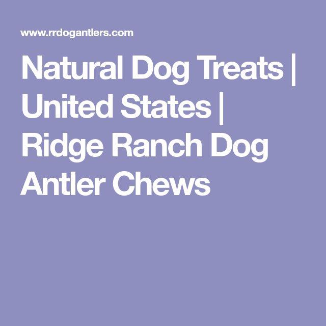 Natural Dog Treats | United States | Ridge Ranch Dog Antler Chews